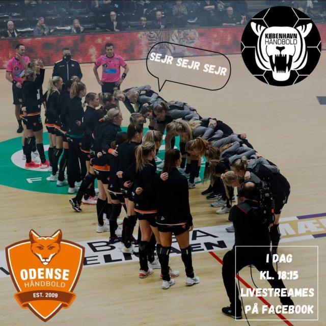 MATCHDAY 🔥Vi drager i dag mod @odensehaandbold i jagten på to point! Du kan finde link til livestreaming af kampen på vores Facebook. Kampstart er kl. 18.30 og optakt fra kl.18:15💪🏼I seneste opgør mod Team Esbjerg, beviste vi vores værd i toppen af Bambusaligaen og det kommer pigerne også til at vise i Odense!🐅Giv pigerne noget stemning med på turen🤩