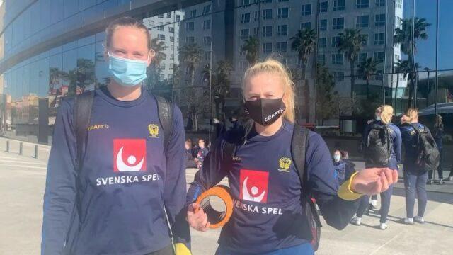 HOLÁ fra Valencia 😍Vores to skønne svenske kvinder befinder sig lige pt. sydpå sammen med med resten af det svenske @handbollslandslaget 🇸🇪De har dog slet ikke glemt at slutspillet herhjemme snart går løs og sender her en dejlig hilsen til alle jer 🤍🖤#kbhbolddk #bambusadk #kvindeligaen #bundsen1 #blomstrand22@hannablomstrand præsenteres af @gfforsikringdk @bundsen præsenteres af @vinemil.dk
