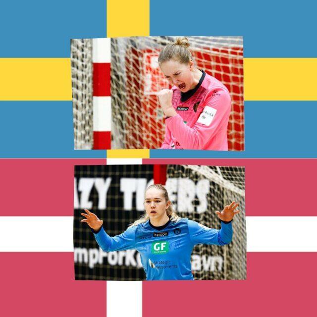 Så er vi igen keeper-løse og skal det næste stykke tid undvære vores dygtige kvinder i målet 🐅 @amaliemilling og @bundsen er nemlig begge udtaget til landsholdstjeneste på henholdsvis det danske og svenske landshold! 🇩🇰 🇸🇪 Stort tillykke! 💪Du kan følge Danmarks kampe mod Spanien d. 15. og 17. april på TV2 Sport og TV2Sverige møder Ukraine i VM-playoff d. 17. og 21. aprilJohanna Bundsen er præsenteret af @vinemil.dk Amalie Milling er præsenteret af @eventudlejningdk#kbhbolddk #bundsen1 #milling16