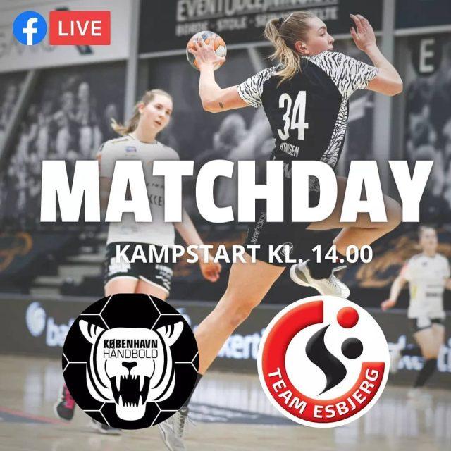 Matchday! 🔥I dag byder vi velkommen til @team_esbjerg_official i Frederiksberg Hallerne, som vi møder for 2. gang i slutspillet 💪🏼 Vi er klar til en hård kamp om de 2 point!Du kan se kampen live på vores facebookside, med startfløjt kl. 14.00 - vi håber at du vil heppe med! 🐅#kbhbolddk #kbhtes #bambusadk